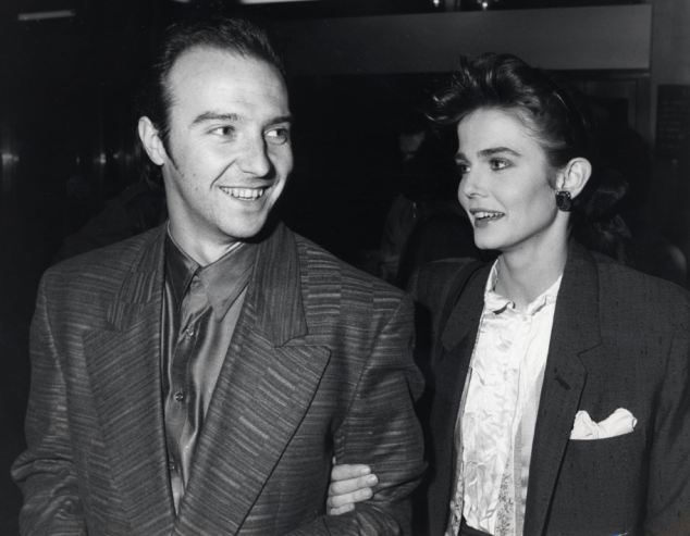 Giles with former husband Midge Ure. Mr Duddridge said that at the start of their relationship, Giles convinced herself Mr Ure had hired spies to follow her