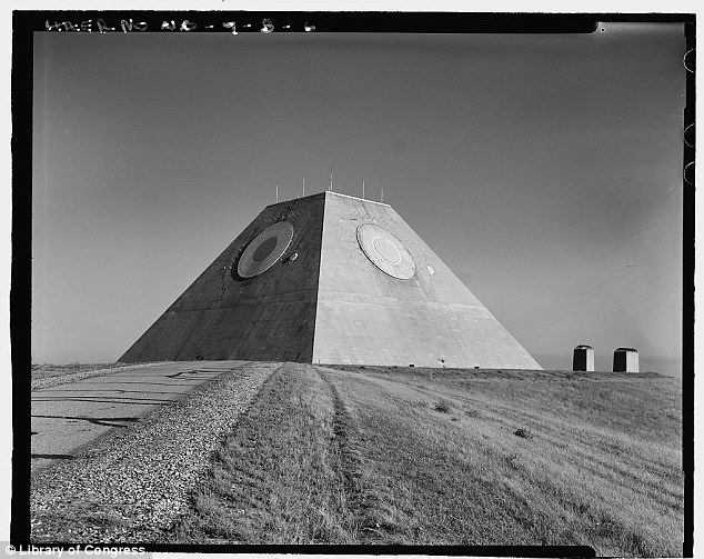 Armed and dangerous: While operational, the pyramid was armed with 30 Spartan missiles and 16 of the shorter-range Sprint missiles