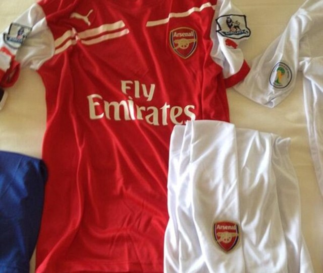 This Could Be The Arsenal Kit For Next Season Their First