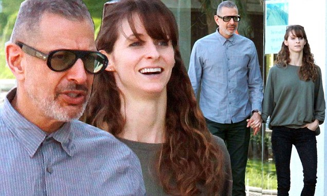Jeff Goldblum, 61, Holds Hands With 31-year-old Girlfriend