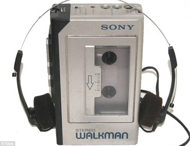 Image result for old walkman cassette player