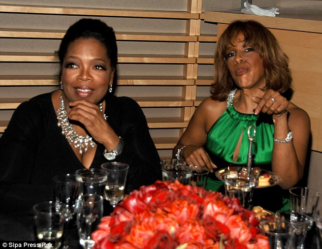 """'Bizarre': When Barbara first met Oprah at her Prairie, Indiana home, she was given the third degree by Oprah--and Gayle. Barbara shares her story about their 'bizarre"""" relationship in Part 2 of the interview tomorrow"""