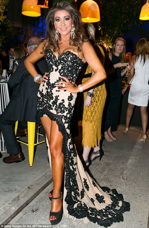 Real Housewives of Melbourne's Gina Liano reunites with ex ...
