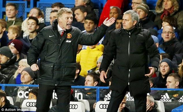 Image result for : Mourinho Man Utd Moyes