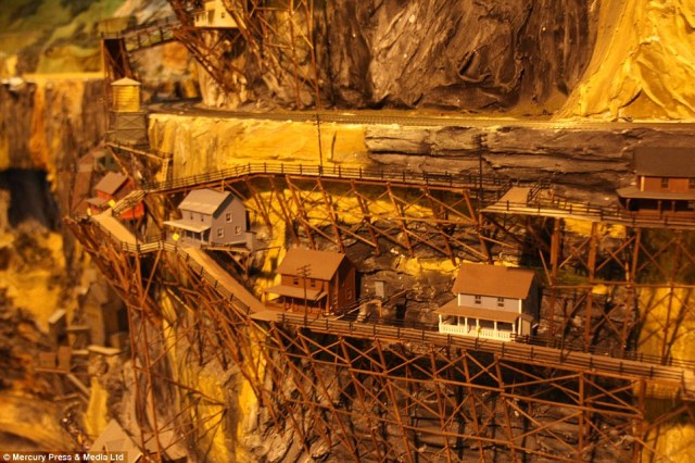 Delicate: Northlandz is a 16 acre world class attraction developed by Bruce and his wife Jean