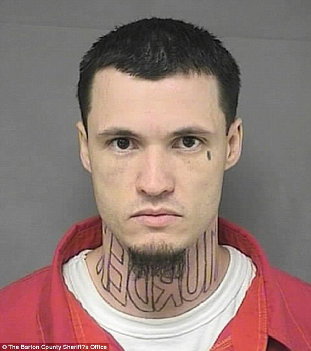 Accused murderer Jeffrey Wade Chapman wants murder neck tattoo removed before trial  Daily