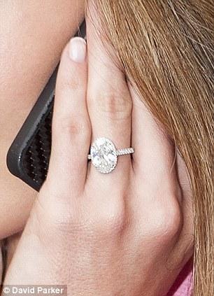 Katherine Jenkins Debuts Stunning Diamond Ring One Week