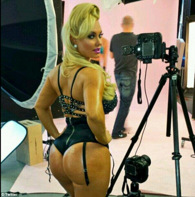 Wowzer! Coco Austin's '100 per cent real' buttocks come in at a close second