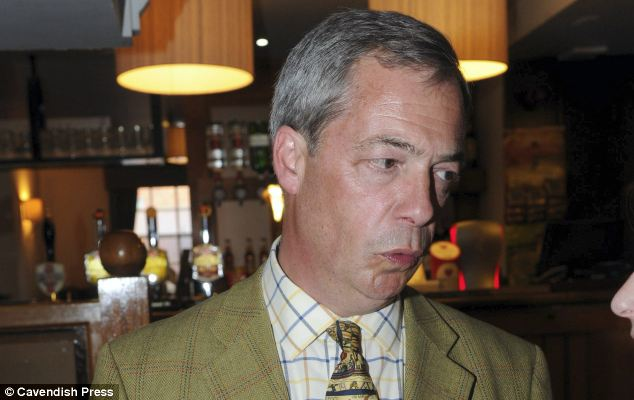 Ukip leader Nigel Farage admitted something had gone wrong with the party's vetting system