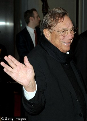 Los Angeles Clippers owner Donald Sterling arrives at City of Hope's Music and Entertainment Industry's Spirit of Life Gala in the Diamond Ballroom at the Ritz-Carlton and JW Marriott Hotels on January 13