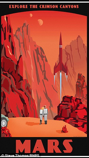 Stunning Travel Posters Depict Holidays Around The Solar