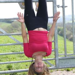 Hanging Upside Down Chair For Back Poppy High Cover Malaysia Inversion Exercise Could Banish Your Mum Tum Things Are Looking Up Alice Smellie Tries The Workout