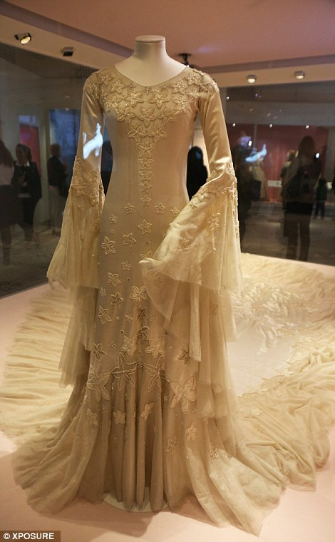 Inside the VAs bridal exhibition featuring gown worn by Kate Moss  Daily Mail Online