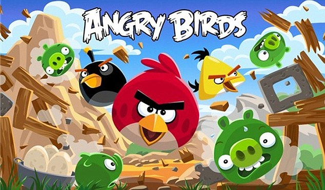 Playing games such as Angry Birds on a mobile can make toddlers slower at learning to talk, experts warn