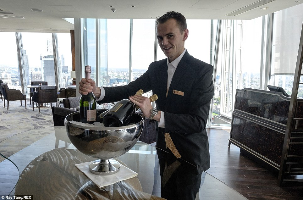 ShangriLa Hotel At The Shard opens its doors  Daily