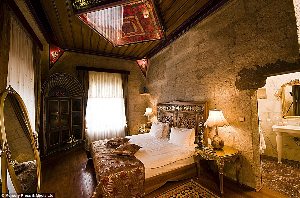 Night At The Museum The Luxury Hotel Built In Cappadocia