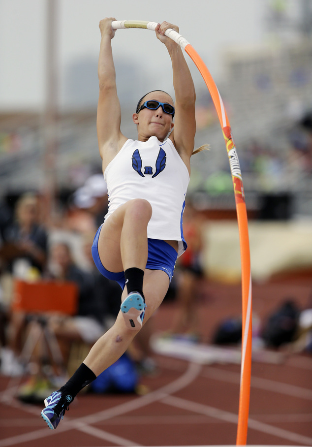 Blind high school vaulter in Texas nearly medals  Daily