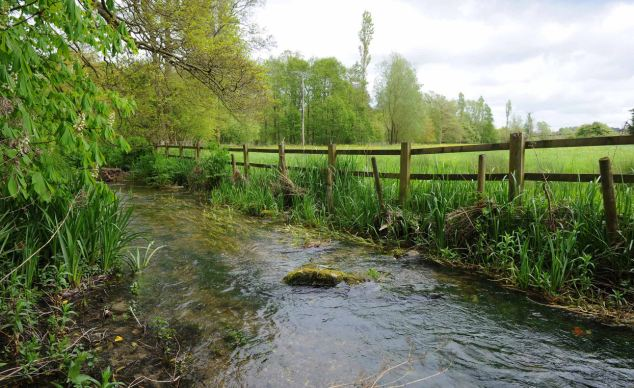 150,000 litres of fuel have contaminated soil close to the River Kennet, pictured, in Wiltshire