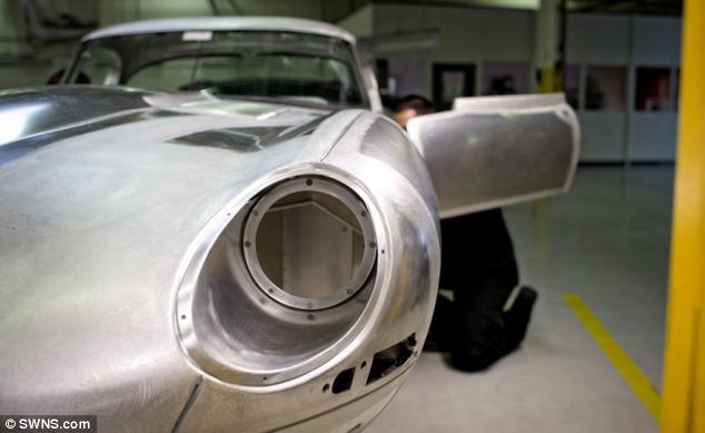 Six brand new lightweight E-types are being built by Jaguar, all to the original specification