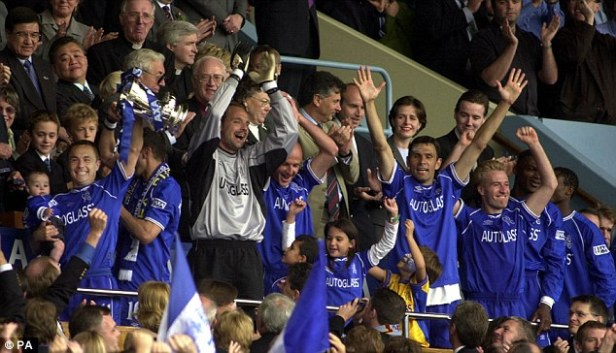 Image result for chelsea fa cup winners 2000