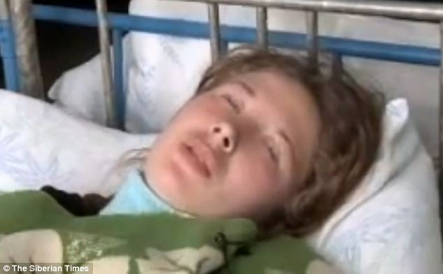 This is one of the victims of the 'sleeping epidemic' that routinely hits areas near a disused Soviet mine