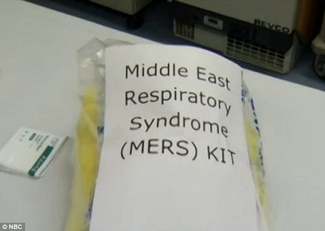 Hospitals in the U.S. are now preparing to treat people with MERS by having kits, such as this one, on hand. They contain robes and masks that would prevent picking up the virus