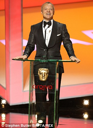 Tacky? Graham Norton's suit was far too try-hard and made him look older than his fifty years