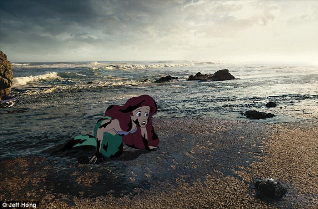 Image result for little mermaid oil