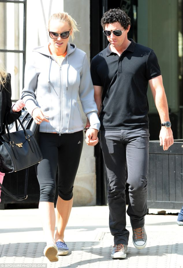 The pair looked deep in thought as they strolled hand-in-hand through Sloane Square in London last Thursday