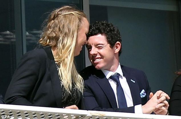 In a statement, McIlroy, pictured with Wozniacki in 2012, said: 'The wedding invitations issued at the weekend made me realise that I wasn't ready for all that marriage entails'