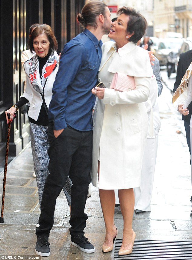 Kris Jenner And Bruce Sight Seeing In Paris Before Kim