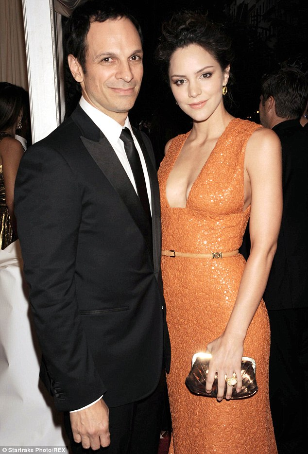 It's over: Katharine McPhee has filed for divorce from husband of six years, Nick Cokas; the couple was pictured in May 2012