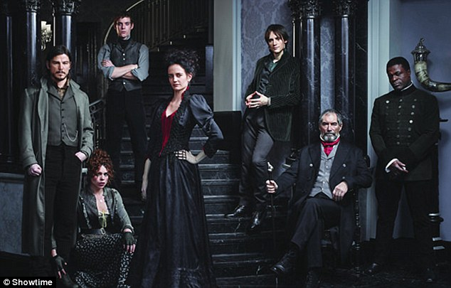 Psychological thriller: The former Bond girl also plays Vanessa Ives in the gothic series Penny Dreadful, which currently airs Sunday nights on Showtime and was just renewed for a second season