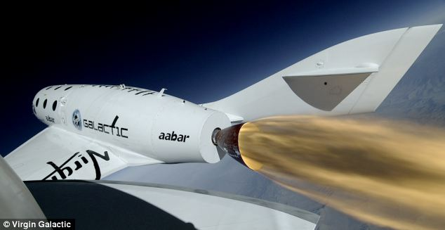 Richard Branson's dream to charter commercial space flights has taken a step closer to reality. His company, Virgin Galactic, yesterday signed a deal with U.S. aviation authorities to let it blast paying customers into space on SpaceShipTwo (pictured)