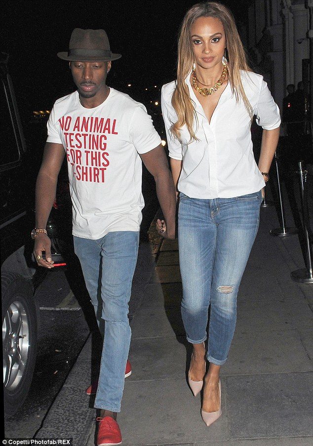 Alesha Dixon Wows In Jeans For Dinner With Boyfriend After
