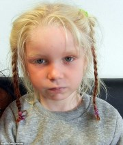 court rules blonde girl '