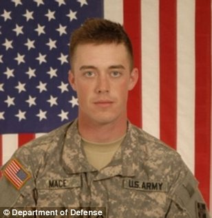 Stephan L. Mace (Lovettsville, Virginia) -- Killed in action on October 3, 2009