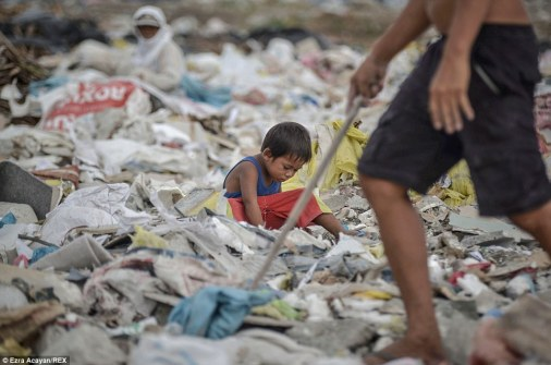 Young children are brought up living in this environment
