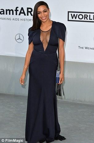 Sleek: On May 22 at an amfAR Gala in Cannes