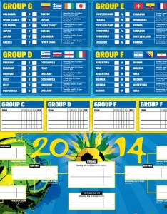 World cup guide print off your brilliant wallchart for brazil also rh dailymail