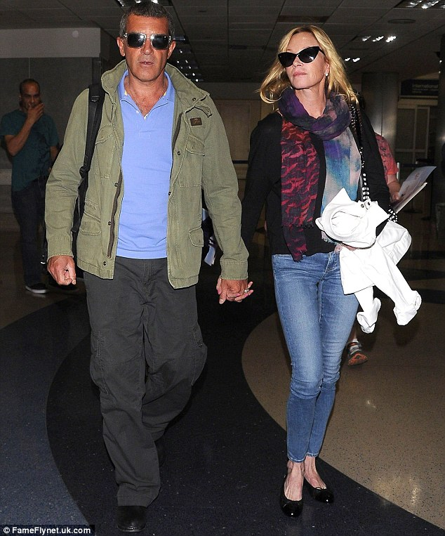 The dream is over: The last time the couple were spotted together in public was on their return from what seemed to be a happy holiday in the Bahamas in March