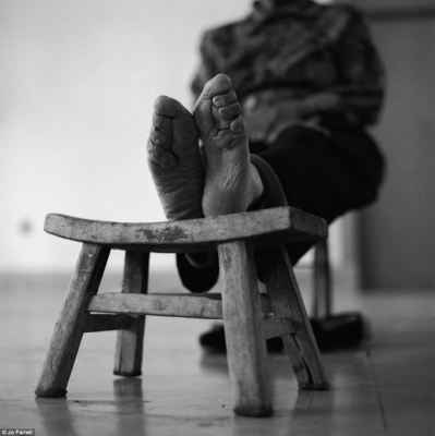 Outlawed: The tradition of foot binding started during the Song Dynasty and was banned in 1911, although it continued in rural areas until around 1939
