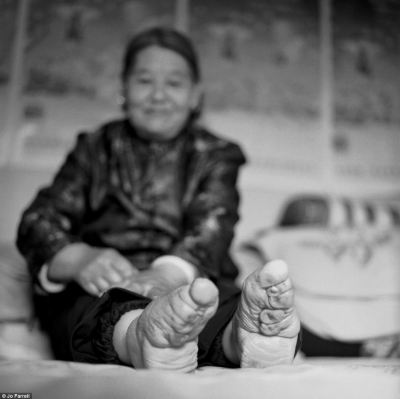 Desirable: Many young girls used foot binding because it was a mark of beauty and were was one of the main avenues for women to find a husband in China or marry into money