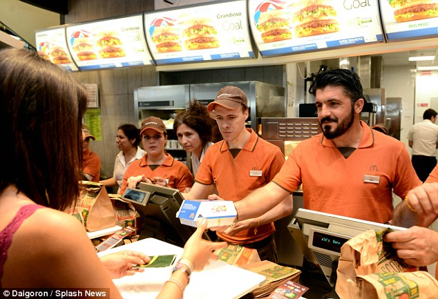 Image result for fast food staff