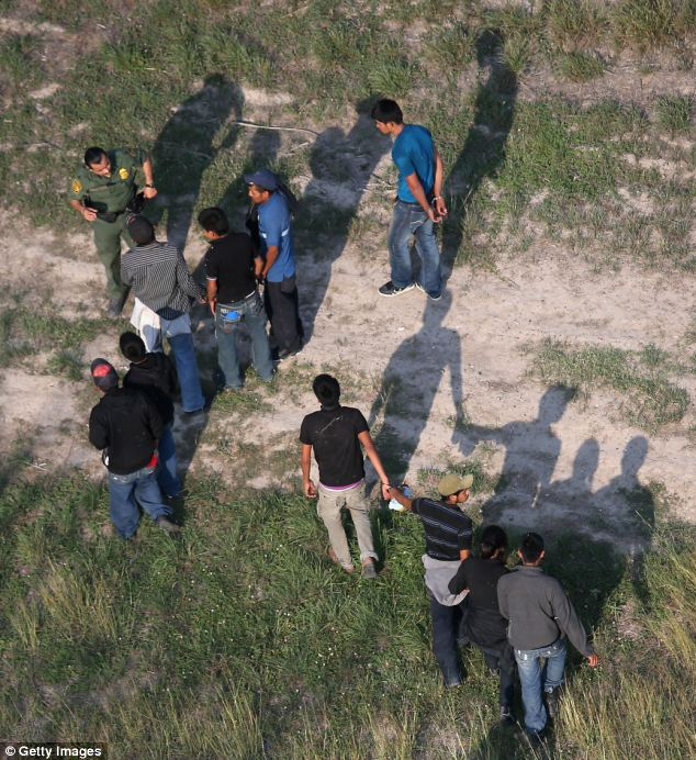 Not just adults: Border Patrol agents are apprehending hundreds of illegal immigrant children every day, and the Department of Health and Human Services is responsible for taking care of them until a suitable adult family member can claim them
