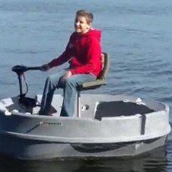 Fishing Chair Base Kids Bed Ultraskiff Boat Touted As The Ultimate Vessel   Daily Mail Online