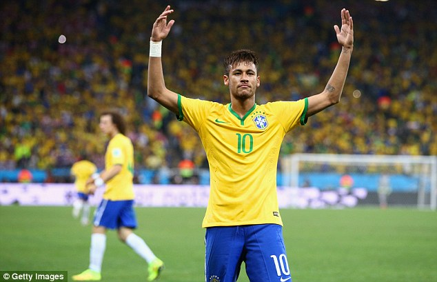 Star: Neymar shined for Brazil as they beat Croatia in their opening World Cup game