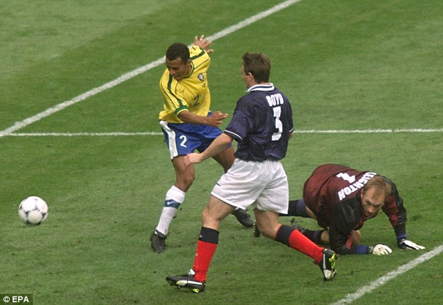 Image result for own goals 1998 world cup