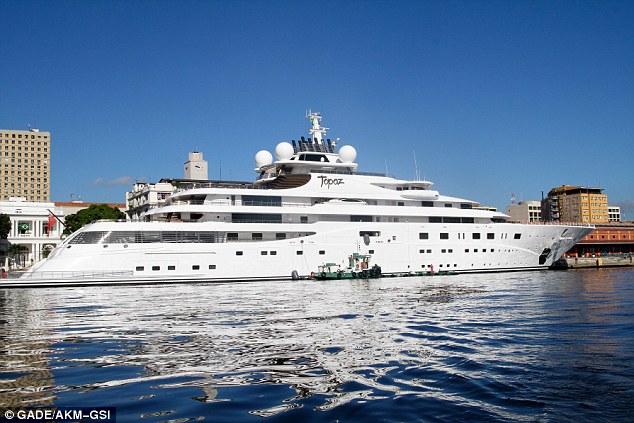 Leonardo DiCaprio Borrows Superyacht To Treat His Pals To