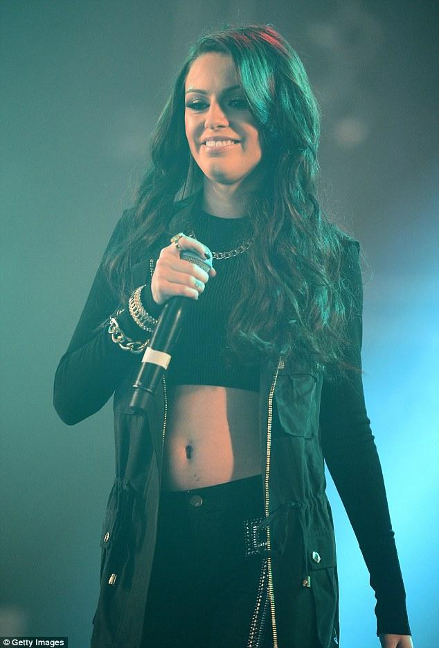 Cher Lloyd Delights Isle Of Wight Fans In Revealing T